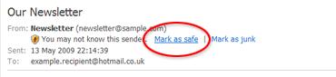 [mark as safe link]