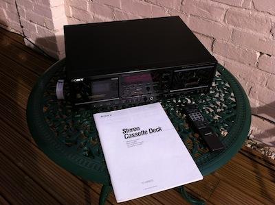 Sony TC-WR870 twin cassette deck