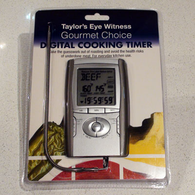 Temperature Probe and Timer