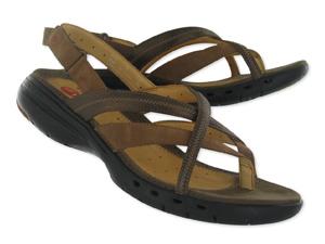 Womens Un.Keel brown nubuck comfort thong sandals