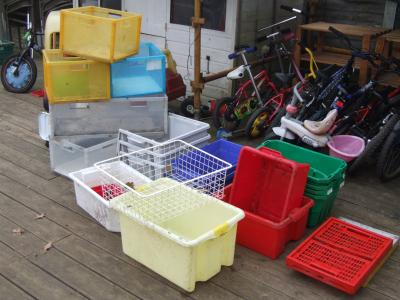 Crates in Good Condition